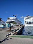 Norwegian Sky and Carnival Victory (31506970650).jpg