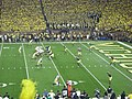 Notre Dame vs. Michigan football 2013 12 (ND on offense).jpg