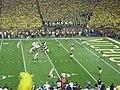 Notre Dame vs. Michigan football 2013 12 (ND on offense).jpg