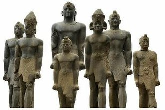 Kingdom of Kush - Figurines of pharaohs of the 25th Dynasty