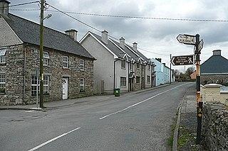 OCallaghans Mills Village in Munster, Ireland