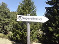 OSM guidepost To Superdevoluy.JPG