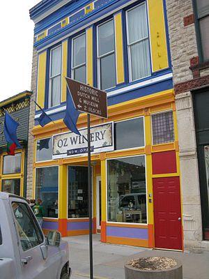 Wamego, Kansas - Image: OZ Winery, Wamego, Kansas 2008
