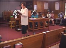 File:Oak Grove Baptist Church, Elba Alabama, African American 7-shapenote gospel singing 10-11-2003.webm