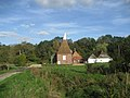 Oast House at Forge Farm, Bedgebury Road, Goudhurst, Kent - geograph.org.uk - 334759.jpg