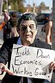 Occupy Austin Halloween March Zombie Reagan.jpg