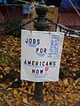 Occupy Portland November 9 jobs sign.jpg