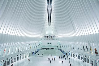 Westfield World Trade Center Largest shopping mall in Manhattan