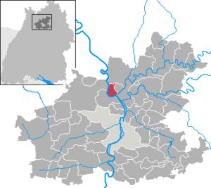 Offenau - Image: Offenau in HN