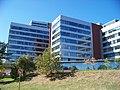 Office Park Nové Butovice, budovy B a C, z Řeporyjské.jpg