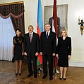 Official welcome ceremony was held for Ilham Aliyev in Riga 9.jpg