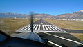 Ogden-Hinckley Airport Runway 3 short final PC 12 photo D Ramey Logan.jpg