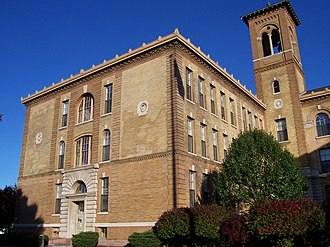 East High School (Rochester, New York) - Image: Old East High School North Wing Rochester New York