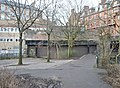 Old Kelvinbridge railway station, Caledonian Railway, Glasgow.jpg