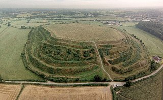 Old Oswestry hillfort in Shropshire