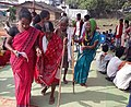 Old ladies arriving for voting at a polling booth, in Sukma, during the 1st phase of Chhattisgarh Assembly Election, on November 12, 2018.JPG