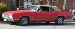 Oldsmobile Cutlass convertible