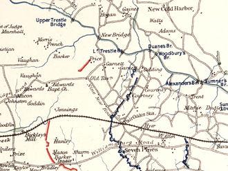 Battle of Oak Grove - Old Tavern area