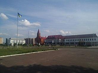Olevsk - Downtown Olevsk