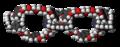 Olympiadane molecules spacefill.png