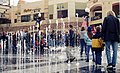 Olympic water fountain at the Salt Lake City Olympic Legacy Plaza at the Gateway District.jpg
