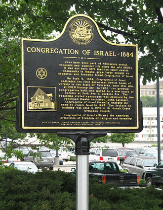 Jewish American Society for Historic Preservation - Congregation of Israel, Omaha, Nebraska