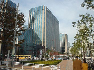 Ōmori, Ōta, Tokyo - Ōmori Belport, headquarters of Isuzu