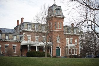 Oneida Community Mansion House - The South Wing of the Oneida Community Mansion House