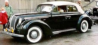 Opel Admiral - Opel Admiral 4-Door Cabriolet (1938)