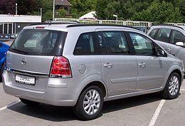 Opel Zafira B Dal 2005 Al 2013