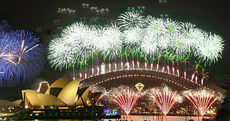 New Year's Day - Sydney contributes to some of the major New Year celebrations each year.