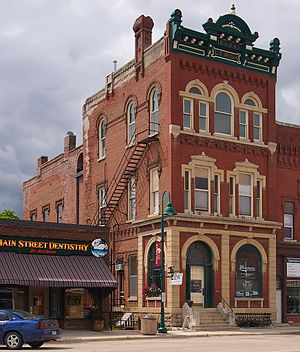 National Register of Historic Places listings in Goodhue County, Minnesota - Image: Opera Block House