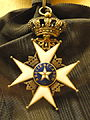Order of the Polar Star, Sweden, Ambassador Georg Achates Gripenberg - National Museum of Finland - DSC04026.JPG