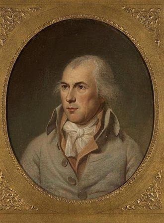 Fifth Amendment to the United States Constitution - Painting of James Madison by Charles Wilson Peale, done in 1792.