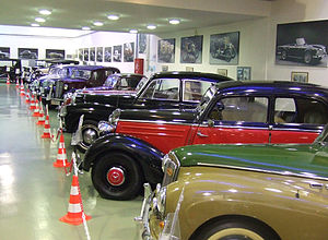 "Oropos - the automobile museum ""O Phaeton"""