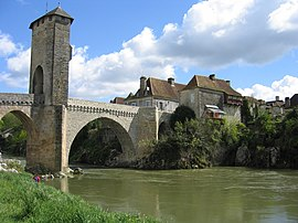 Bridge over the Gave de Pau