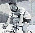 Oscar Egg pour la deuxième fois recordman du monde de l'heure, le 21 août 1913 sur cycle Peugeot.jpg