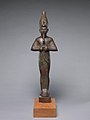 Osiris inscribed for Harkhebit, son of Padikhonsu and Isetempermes MET DP245144.jpg