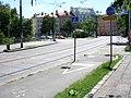 Ostrčilovo náměstí, přejezd pro cyklisty.jpg