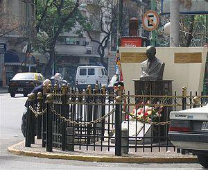 Osvaldo Pugliese - Memorial to Osvaldo Pugliese, Villa Crespo, Buenos Aires.