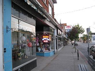 Ottawa Street (Hamilton, Ontario) - Ottawa Street North, Shopping district