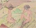 Otto Mueller - Zwei Akte in den Dünen - ca1925.jpeg