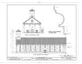 Our Lady of Peace Cathedral, 1183 Fort Street, Honolulu, Honolulu County, HI HABS HI,2-HONLU,21- (sheet 3 of 8).png