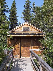 Outhouse on Klondike Highway, British Columbia.jpg