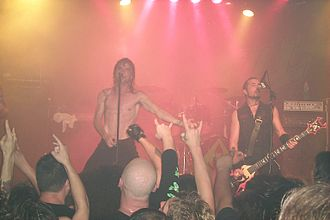 Overkill (band) - Overkill live at the Whiskey, Los Angeles, 2005.