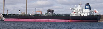 Overseas Shipholding Group - Overseas Sophie in dock in Fredericia, Little Belt, Denmark