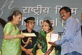 P. Sheshadri receiving the National Film Award for Best Feature Film in Kannada for Vimukthi.jpg