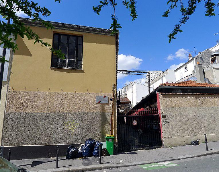Fichier:P1100156 Paris XX rue des Vignoles n°33 rwk.JPG