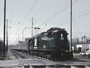 Silver Star (Amtrak train) - The northbound Silver Star passing through Seabrook, Maryland in 1969