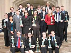 Patrick Henry College's NEDA debate team at th...